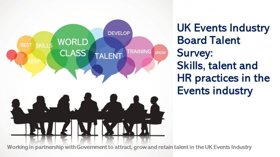 UK Events Industry Board Talent Taskforce Launches Research to Assess how the Sector Attracts, Develops and Retains its Talent